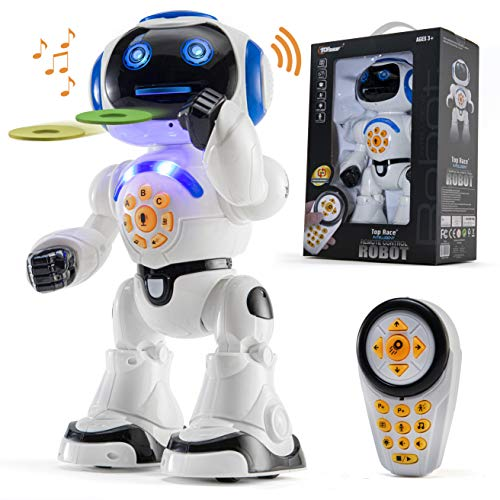 Top Race Remote Control Robot Toy...