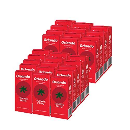 Orlando - Tomate Frito Clásico, Brik 350 g - [pack de 27]