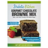Diabetic Kitchen Gourmet Chocolate Brownie Mix Makes The Moistest, Fudgiest Brownies Ever Keto...