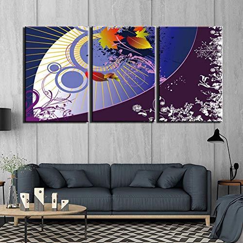 GYSS 3-panelen populaire muurkunst canvas fashion poster HD afdrukken 3-delig schilderij abstracte moderne afbeeldingen voor de woonkamer