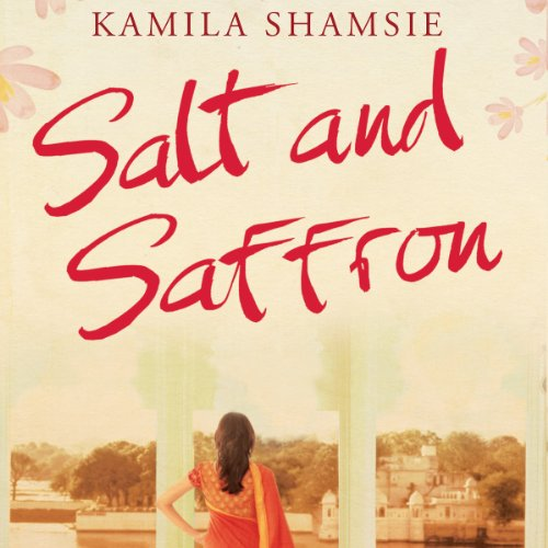 Salt and Saffron audiobook cover art