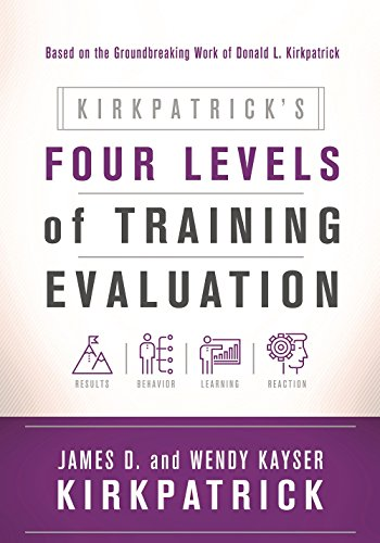 Compare Textbook Prices for Kirkpatrick's Four Levels of Training Evaluation 1 Edition ISBN 9781607280088 by Kirkpatrick, James D.,Kirkpatrick, Wendy Kayser