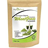 Organic Wheatgrass Powder (200g), MySuperFoods, Certified Organic, Source of Vitamin E, Calcium, Iron, Zinc,...