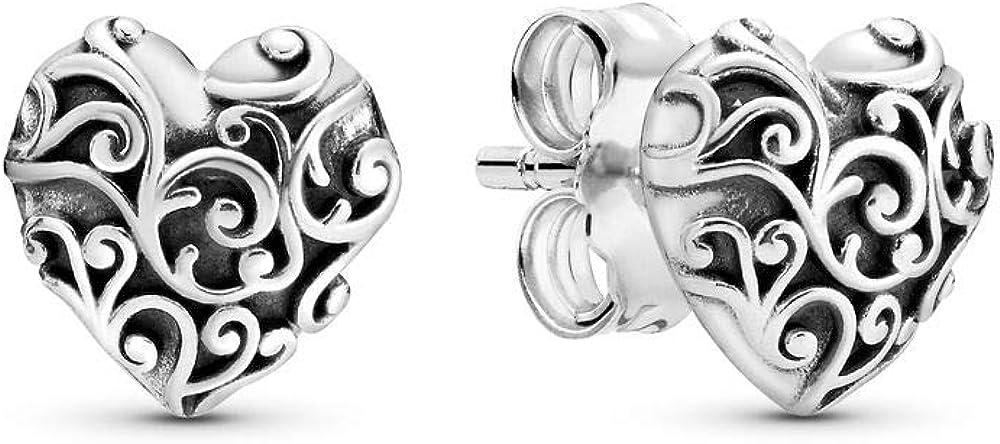 Pandora orecchini a perno  per donna in  argento 297693