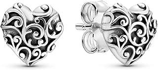 comprar comparacion Pandora Pendientes de botón Mujer plata - 297693