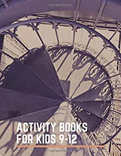 activity books for kids 9-12: This book puzzles books for kids ages 10-12Aboutmaze books for kidsor crossword puzzle books for adults medium difficulty extra maze books