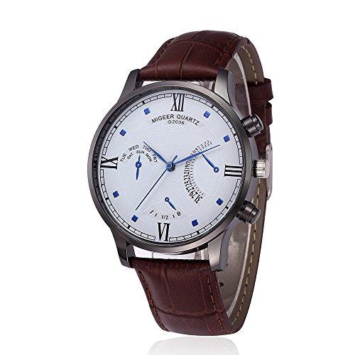 Challeng Armbanduhr Frauen Leder Uhr High-End Herren Business Watch Herren Quarzuhr Studenten Geschenk