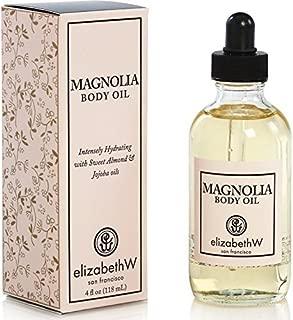 elizabethW Magnolia Body Oil - 4 Ounce