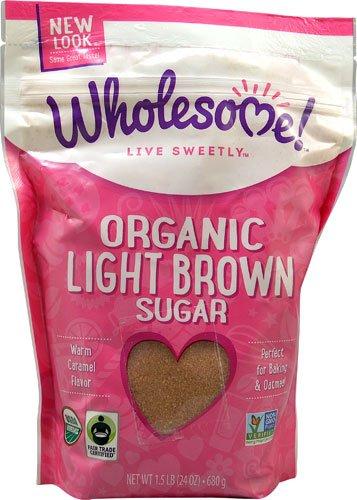 organic light brown sugar - 1