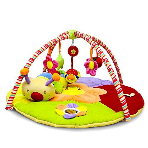Duzzes Tappeto Gioco Palestrina Neonato Evolutiva Per Bambini Multifunzione Tappetino Imbottito Morbido Interattivo Musicale Attività Di Apprendimento Bebe Play Mat Per Gattonare Lavabile