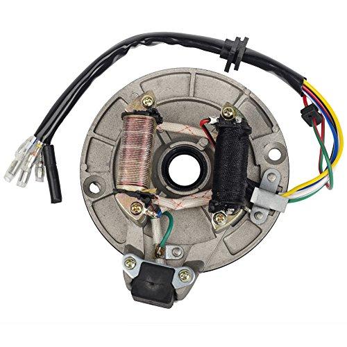 Filtro de colmena para moto Pit Dirt Bike de 90, 110 y 125cc, con estátor y placa magnética