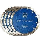 Nordmann SF-150 - 4 dischi da taglio diamantati per fresatrice diamantata BAIER BDN