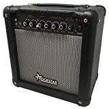 Amplificador combo para guitarra electrica ROCKSTAR G15 con 15W de Rockmusic