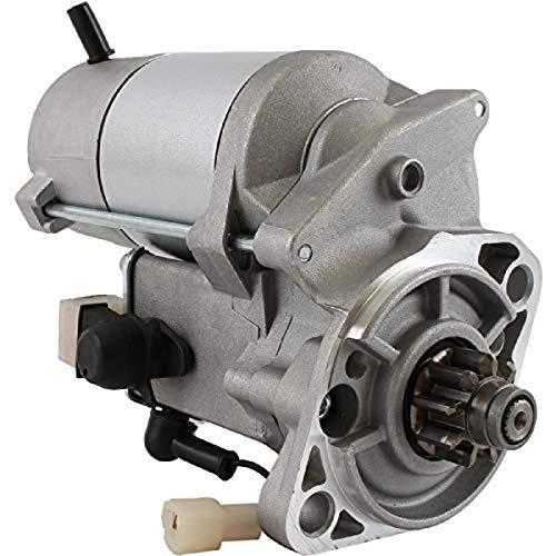 DB Electrical 410-52030 Starter für Airman Bagger AX15 AX16 AX17 AX22 / Kubota Bagger KX121-2 KX161-2 R510 R520 / Thomas Skid Steer T173 T183 T203(89-94)15422 5-630 10, 15425-63011, 15425-63012