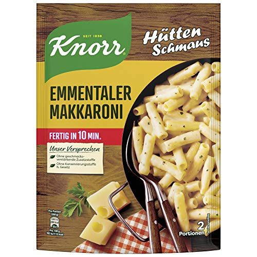 Knorr Hüttenschmaus Nudel-Fertiggericht Emmentaler Makkaroni 151 g