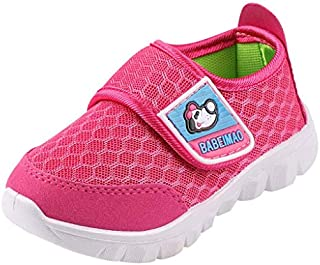 Tantisy ♣↭♣ Baby Sneaker Shoes for Girls Boy Kids Breathable Mesh Light Weight Athletic Running Walking Casual Shoes