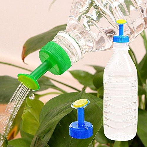 Greenlans Couleurs mélangées 4 pcs jardinage plantes d'accessoires pour bouteille Home Mini Arroseur Pulvérisateur pour plantes