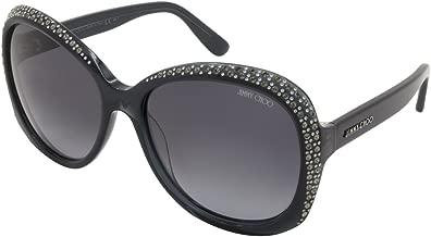 Jimmy Choo Sunglasses - Lu/S / Frame: Dark Gray Lens: Gray gradient-LuS04PY