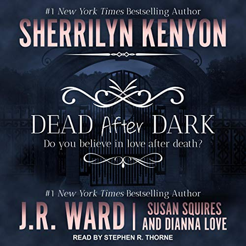 Dead After Dark audiobook cover art