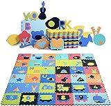 Bamny Spielmatte Baby Geruchlos Teppich Spielteppich Faltbarer