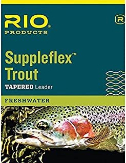 Rio Suppleflex Trout Leaders 7.5ft 5X, 3 Pack