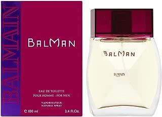 Balman Men Eau De Toilette Spray by Pierre Balmain, 3.4 Ounce