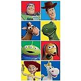 Toalla de playa de personajes de Toy Story de Disney
