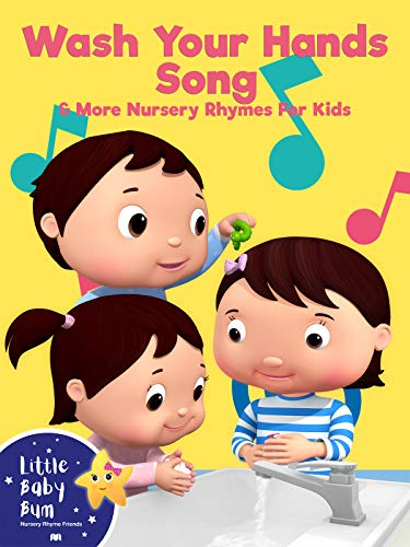 Little Baby Bum - Wash Your Hands Song & More Nursery Rhymes For Kids