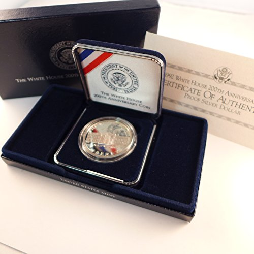 1992 W The White House 200th Anniversary Coin...