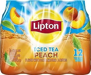 Lipton Iced Tea, Peach (12 Count, 16.9 Fl Oz Each)