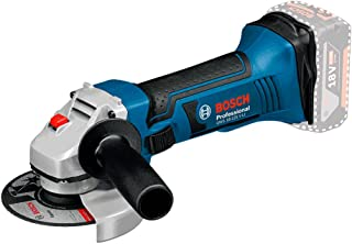 Bosch Professional GWS 18 - 125 V - LI Cordless Angle Grinder (without Battery and Charger) - Carton