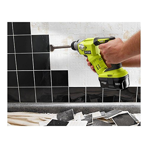 Ryobi 18-Volt ONE+ Lithium-Ion Cordless 1/2 Inch SDS-Plus Rotary Hammer Drill (Tool Only) (Non-Retail Packaging)