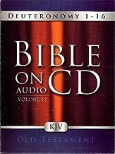 Bible On Audio CD: Deuteronomy 1-16 (Volume 12)