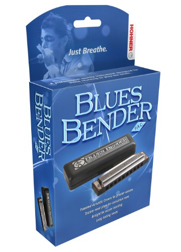 Hohner BBBX-D Blues Bender Harmonica, Key of D