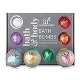 ArtNaturals Large Bath Bombs Gift Set kit – (12 x 4 Oz / 113g) - Natural Handmade Essential Oil Spa Bubble Bath Bomb Balls Fizzies – for Relaxation, Moisturizing, & Fun for Women, Kids, & Men
