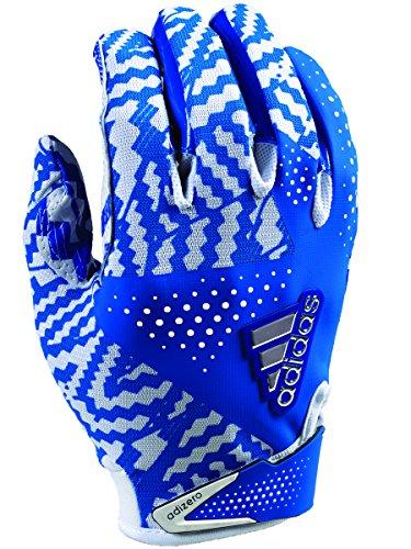 adidas Adizero 5.0 - Guantes de fútbol (talla pequeña), color blanco y azul