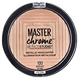 Maybelline Master Chrome Metallic Highlighter Powder, Molten Gold,...
