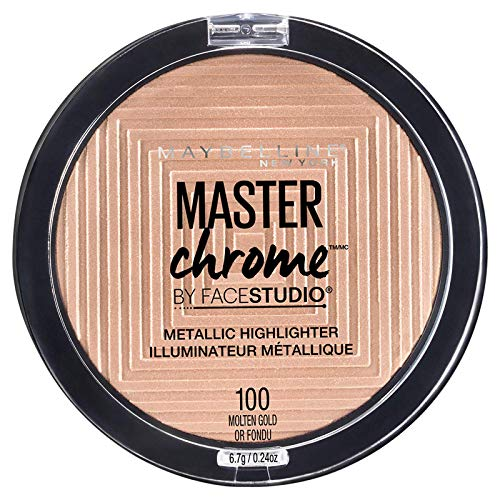 2. Maybelline New York Master Chrome Highlighter