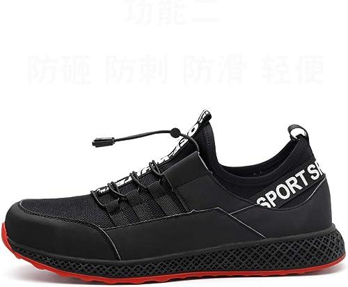 Bottes de travail Chaussures de travail pour hommes et femmes chaussures de sécurité pour la sécurité en plein air chaussures de sport antidérapantes semelles de rembourrage résistantes à l'usure chau