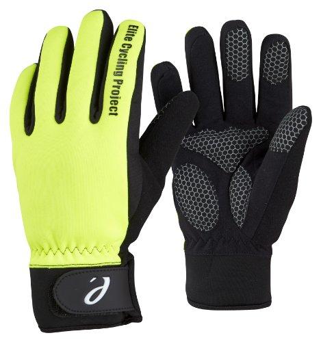 Elite Cycling Project Malmo Wasserdichte Winter Fahrradhandschuhe Thinsulate Gefüttert Radsport Handschuhe, Gr.- L, Malmo Green