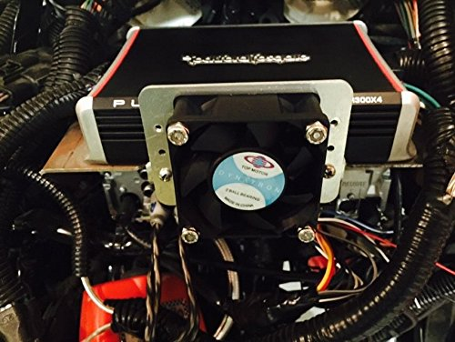Amplifier Cooling Fan for Harley with Rockford Fosgate PBR400X4D Amp Pbr300x2 Pbr300x4 Amp