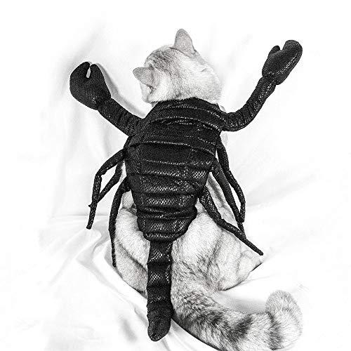 UNIIKE Navidad del Traje de Halloween del Perro casero Scorpion Perros Gatos Vacaciones Traje de decoracin Accesorios para el Cabello para Puppy,S