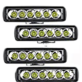 Tira de luz LED 6LED 18W LED Trabajo Light Bar Bare DE LUZ 12V 24V...