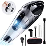 Topwolf Handheld Vacuum,Hand held Vacuum Cordless Rechargeable with 8000PA Powerful Suction,Portable Handheld Vacuum Cleaner for pet/car/Home