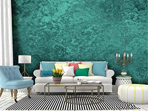 Wall Mural teal grunge ombre texture mint blue green pretty background dark Peel and Stick Wallpaper Self Adhesive Wallpaper Large Wall Sticker Removable Vinyl Film Roll Shelf Paper Home Decor