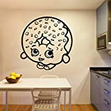 Tianpengyuanshuai Creativo Restaurante Pared calcomanía habitación decoración del hogar 42X53cm