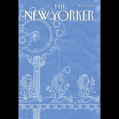 The New Yorker, May 20th 2013 (John Seabrook, Rebecca Mead, Susan Orlean) audiobook cover art
