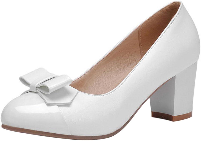 TAOFFEN Women's Fashion Heels Court shoes