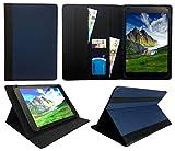 Blaupunkt Tablet Atlantis A10.G403 10.1 inch Blau mit Schwarzer Trimmen Universal Wallet Schutzhülle Folio ( 10 - 11 zoll ) von Sweet Tech