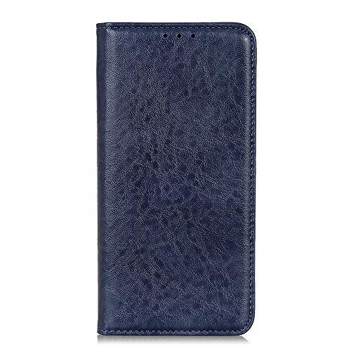 Botongda für Xiaomi Mi Mix 3 5G Hülle,[Unsichtbarer Magnetverschluss] Kunstleder Tasche mit Standfunktion & Kreditkartensteckplatz Flip Wallet Hülle Cover für Xiaomi Mi Mix 3 5G (Blau)